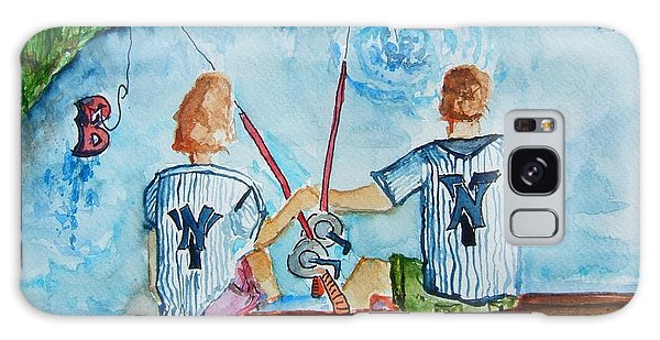 Yankee Fans Day Off Galaxy Case