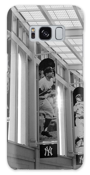 Yankee Greats Of Yesteryear In Black And White Galaxy Case by Aurelio Zucco