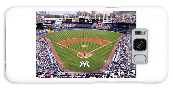 Yankee Stadium Galaxy Case by Allen Beatty