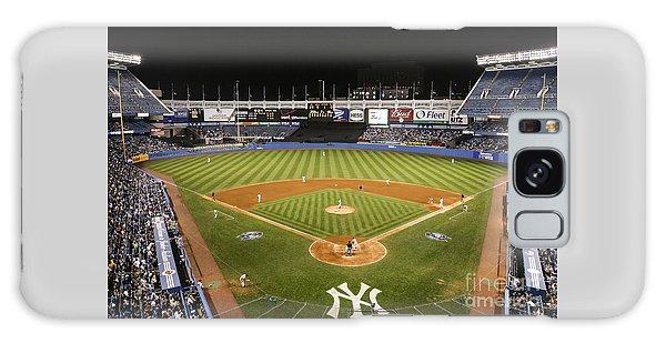 Yankee Stadium Galaxy S8 Case - Yankee Stadium by Chuck Spang