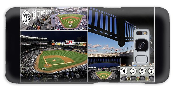 Yankee Stadium Collage Galaxy Case