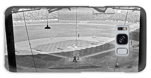 Yankee Stadium Grandstand View Galaxy Case