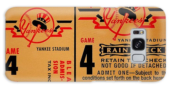 Brooklyn Dodgers Galaxy Case - Yankees 4th Straight - Vintage by Benjamin Yeager