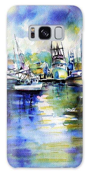 Yaquina Bay Boats Galaxy Case