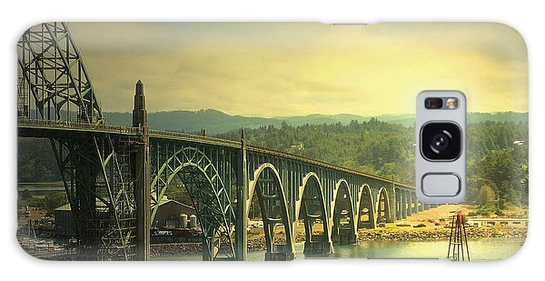 Yaquina Bay Bridge Or Galaxy Case
