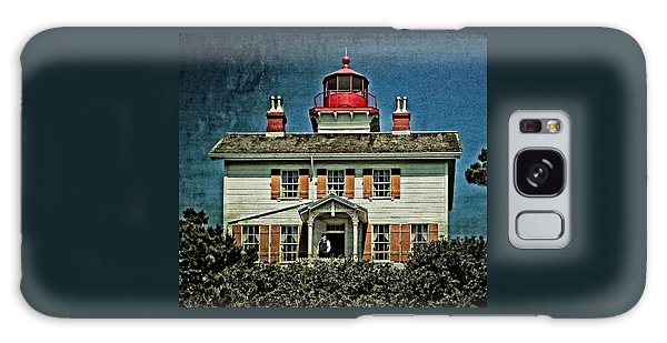 Yaquina Bay Lighthouse Galaxy Case