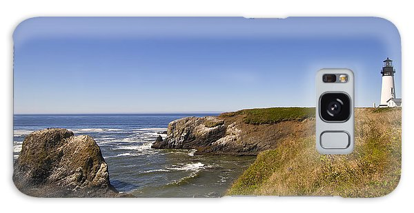 Yaquina Head Lighthouse 4 Galaxy Case