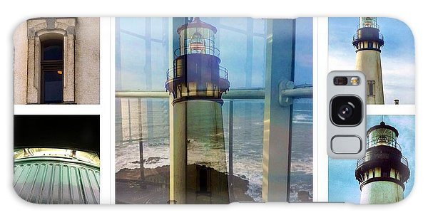 Yaquina Head Lighthouse Essence  Galaxy Case by Susan Garren