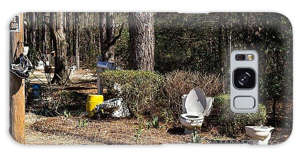Yard Art Hwy 21 South Galaxy Case