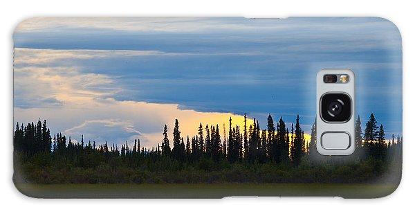 Yarger Lake Sunset Galaxy Case