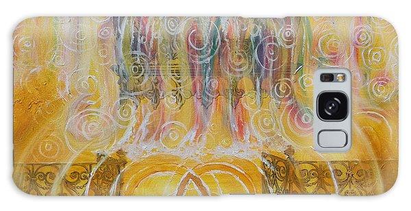 Yaweh El Shaddai Top Canvas Detail Galaxy Case