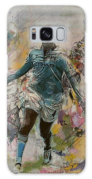 Premier League Galaxy Case - Yaya Toure by Corporate Art Task Force