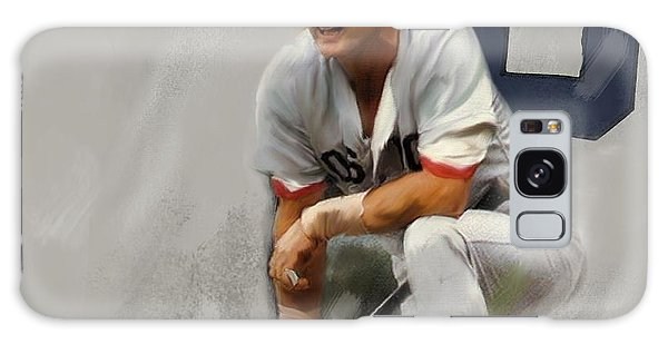Yaz  Carl Yastrzemski Galaxy Case by Iconic Images Art Gallery David Pucciarelli