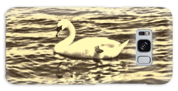 Galaxy Case featuring the photograph Ye Olde Swan by Shawn Dall