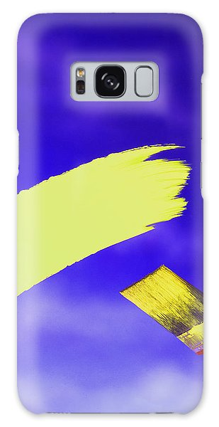 Yellow And Blue Galaxy Case