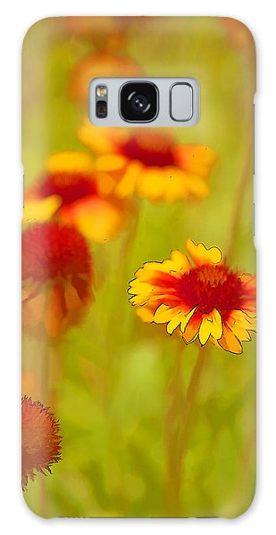 Indian Blanket Coneflower Galaxy Case