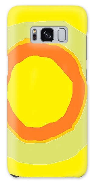 Yellow Galaxy Case by Anita Dale Livaditis