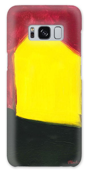 Yellow Arthouse Galaxy Case