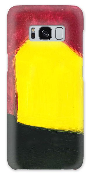 Yellow Arthouse Galaxy Case