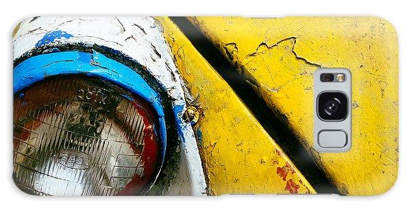 Yellow Auto Rickshaw Galaxy Case