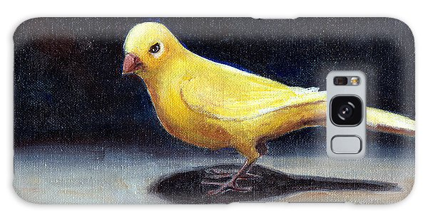 Yellow Bird Galaxy Case
