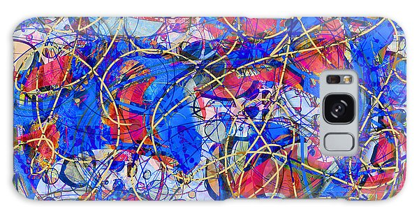 Yellow Brick Road Galaxy Case by Gabrielle Schertz
