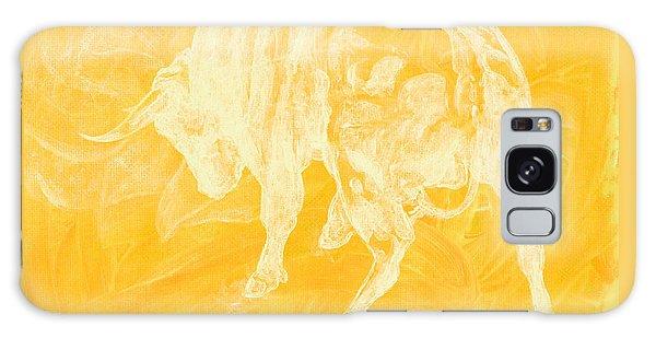 Yellow Bull Negative Galaxy Case