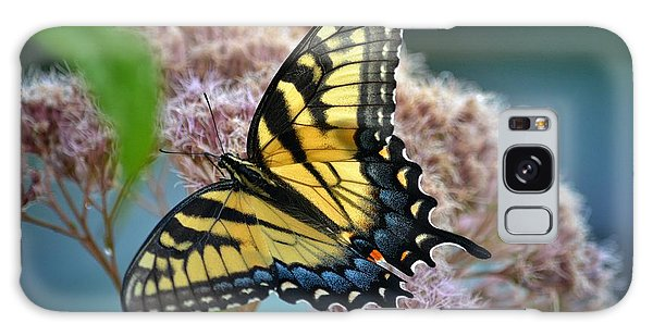 Yellow Butterfly Galaxy Case
