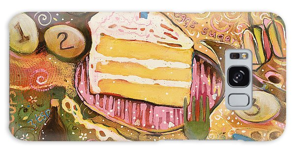 Yellow Cake Recipe Galaxy Case