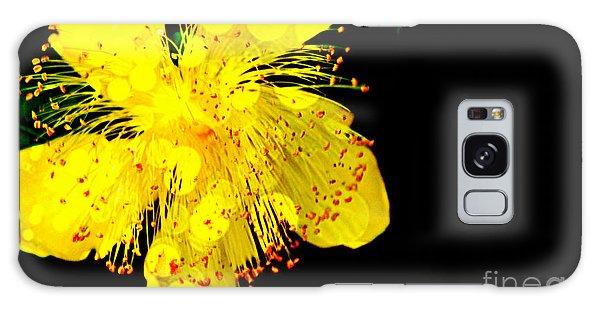 Yellow Galaxy Case by Carlee Ojeda
