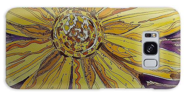 Yellow Chakra Galaxy Case