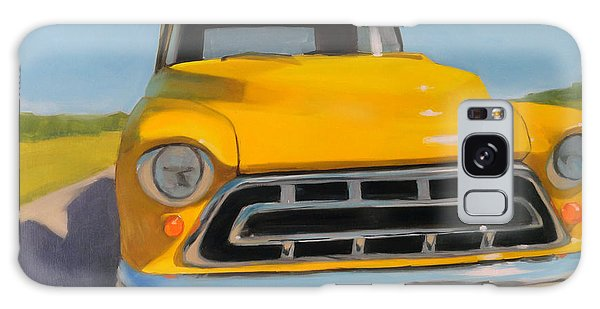 Yellow Chevy Galaxy Case
