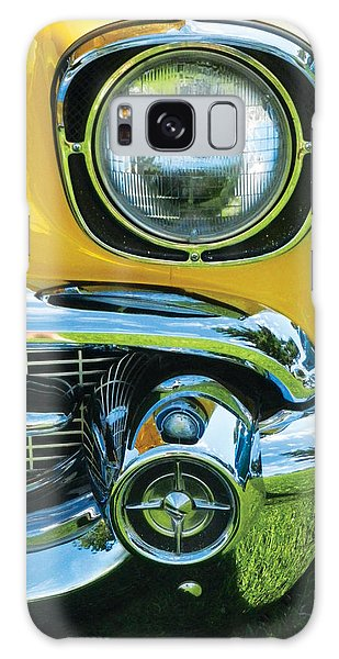 Yellow Chevy Galaxy Case by Val Miller
