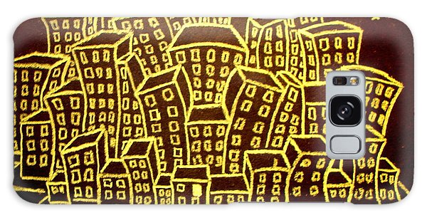 Yellow City Or City Of Gold Galaxy Case by Joseph Hawkins