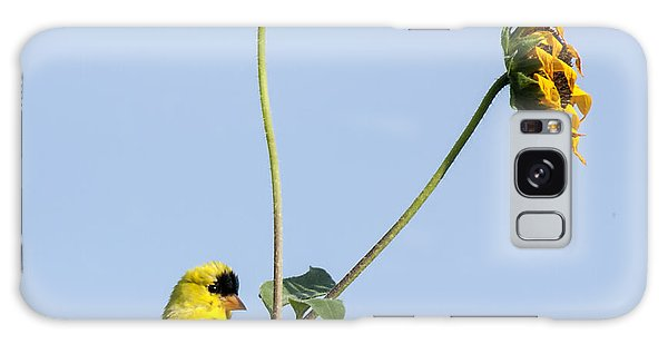 Yellow Delight 2 Galaxy Case by David Lester
