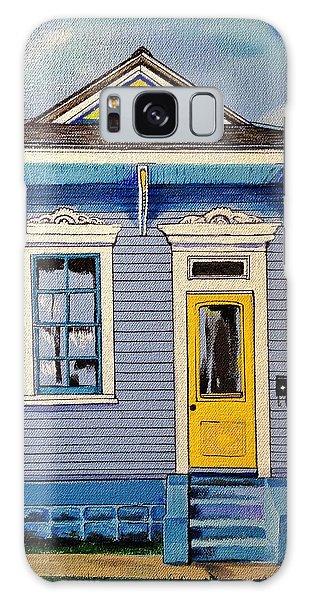 Yellow Door Shotgun  Galaxy Case