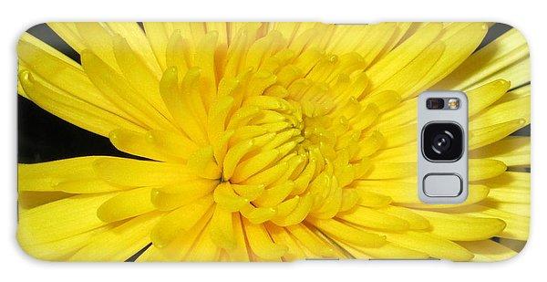 Yellow Flower Closeup Galaxy Case