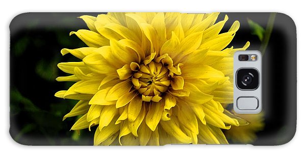 Yellow Flower Galaxy Case