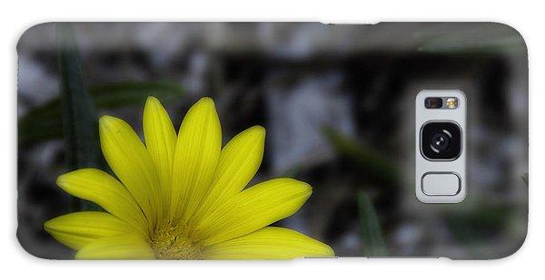 Yellow Flower Soft Focus Galaxy Case