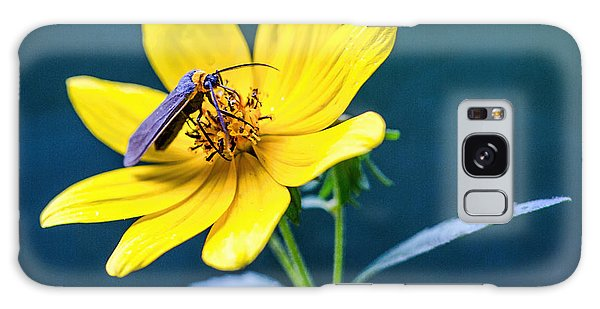 Yellow Flower With Company Galaxy Case