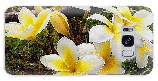 Yellow Flowers 1 Galaxy Case