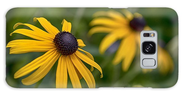 Yellow Flowers Galaxy Case