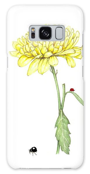 Yellow Fun Galaxy Case by Heidi Kriel