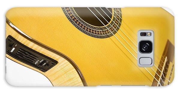 Yellow Guitar Galaxy Case