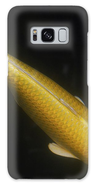 Yellow Koi Tail Up Vertical Galaxy Case