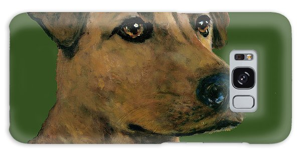 Yellow Lab Mix Galaxy Case