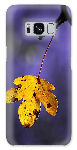 Yellow Leaf Galaxy Case