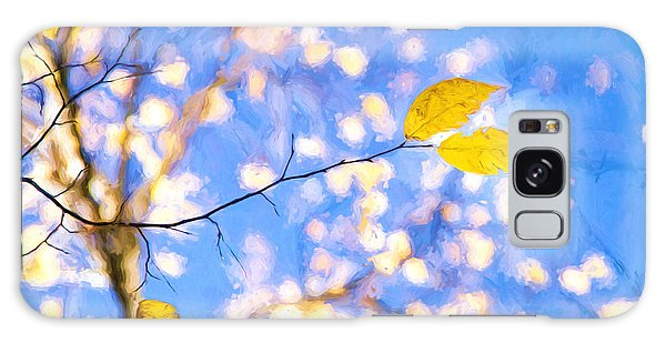 Yellow Leaves Of Fall Galaxy Case