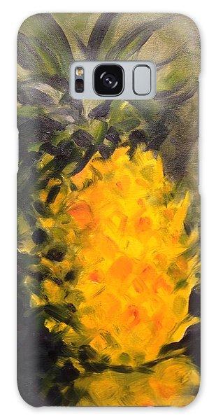 Yellow Light Galaxy Case