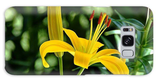 Yellow Lilies Galaxy Case